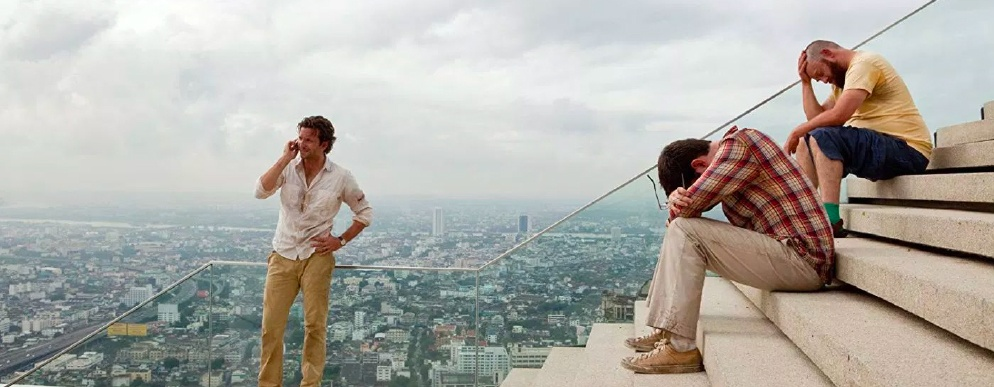 Scene from the movie The Hangover 2