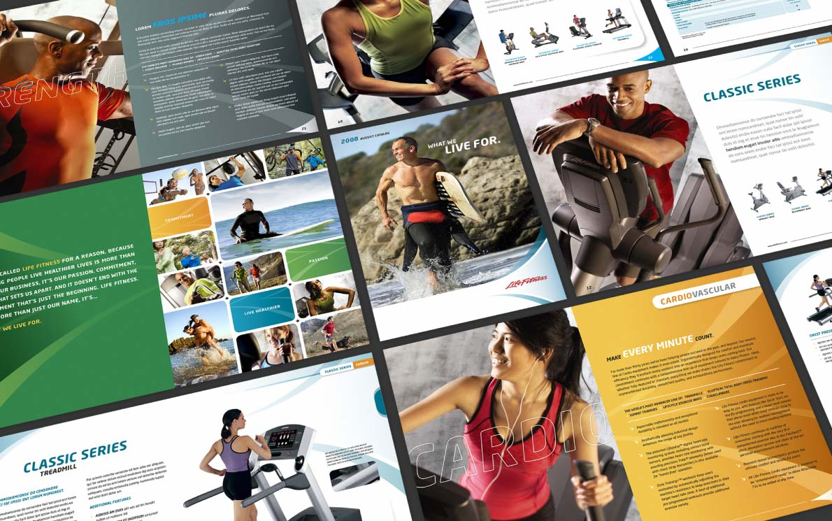 LifeFitness Brochure Pages by The Monogram Group