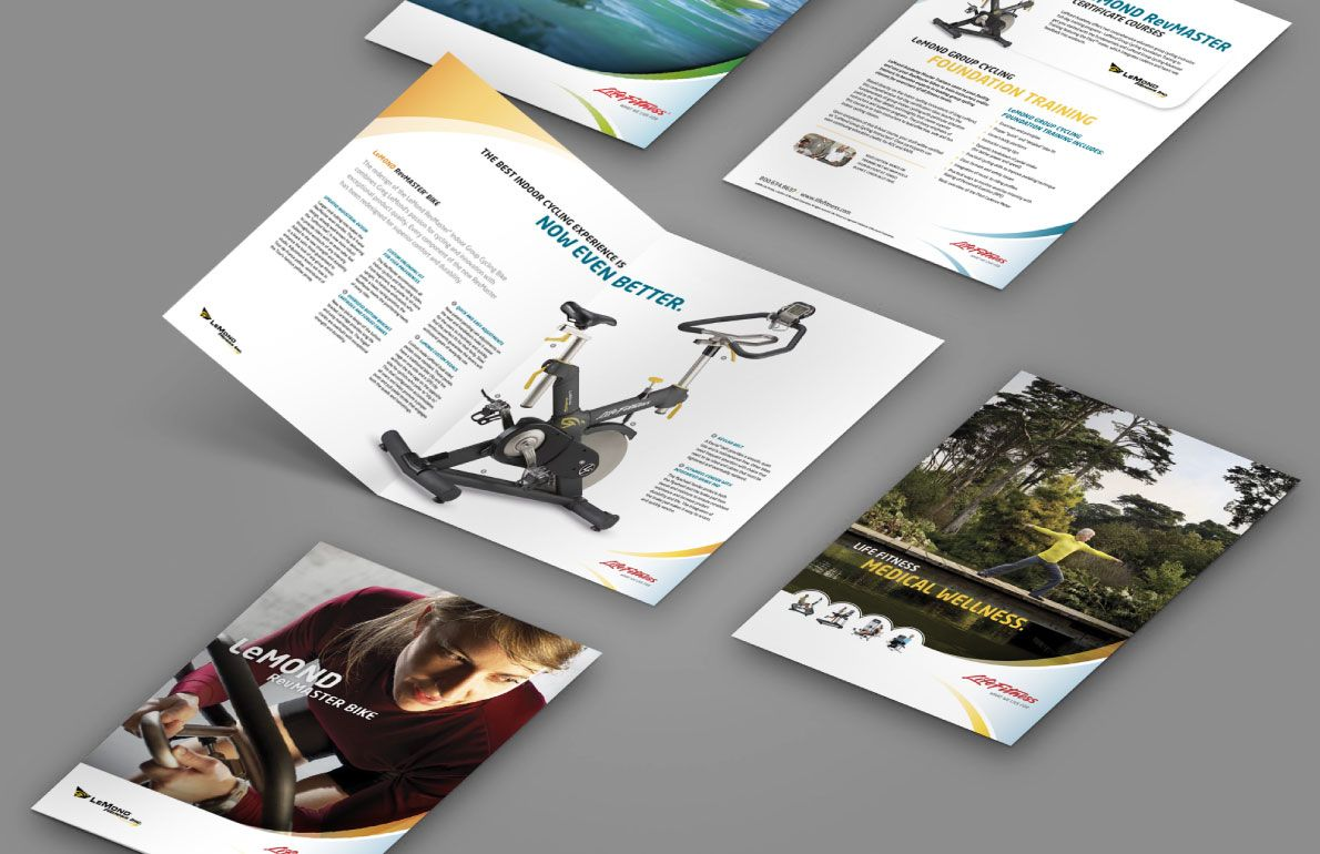 LifeFitness Brochures by The Monogram Group