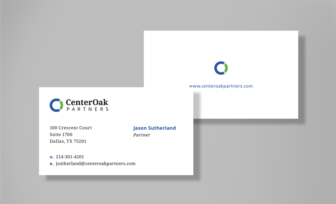 CenterOak Stationery