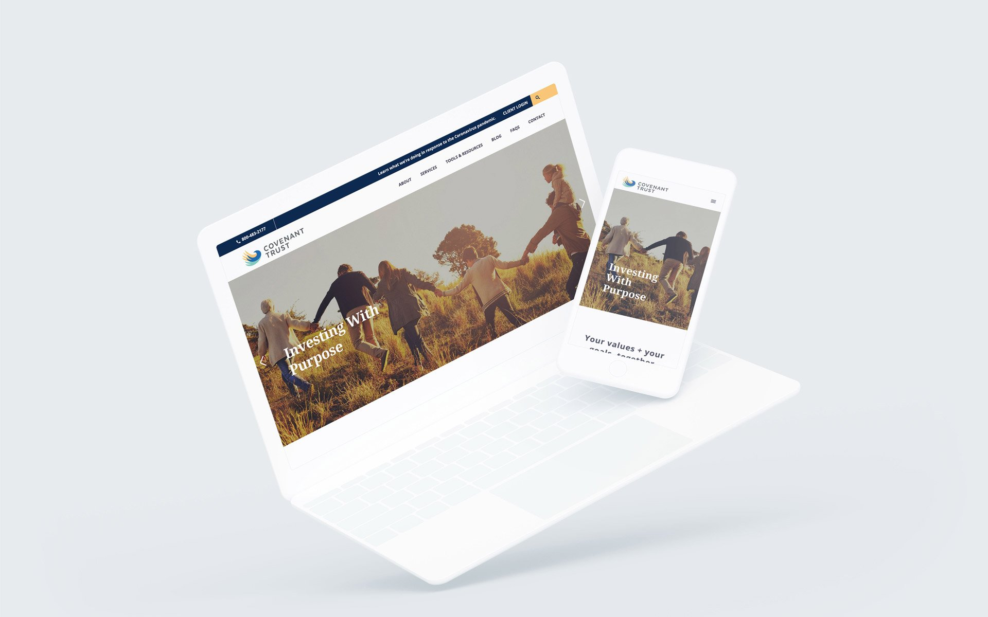 Covenant Trust Website